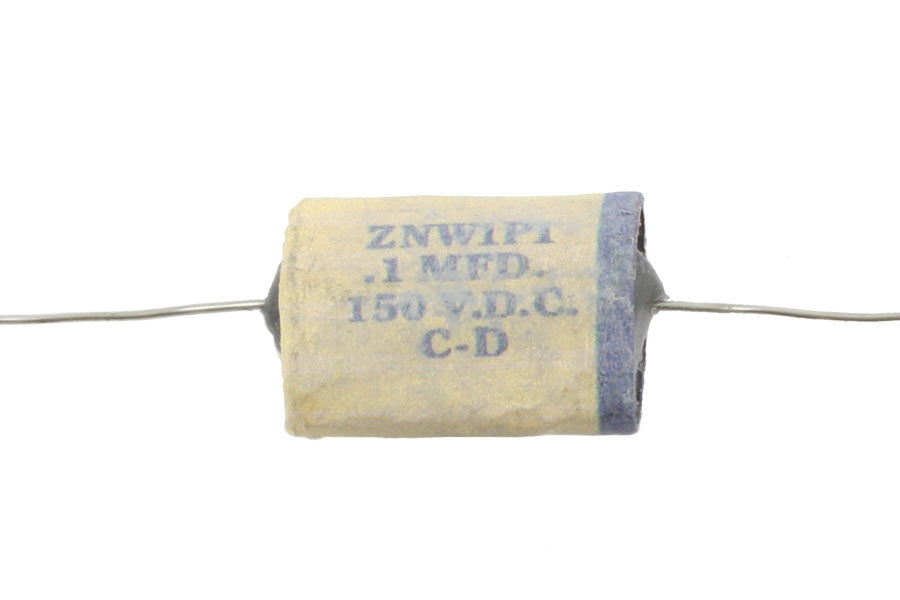 EP-4361 White 0.1 mfd Reproduction 1954 Capacitor