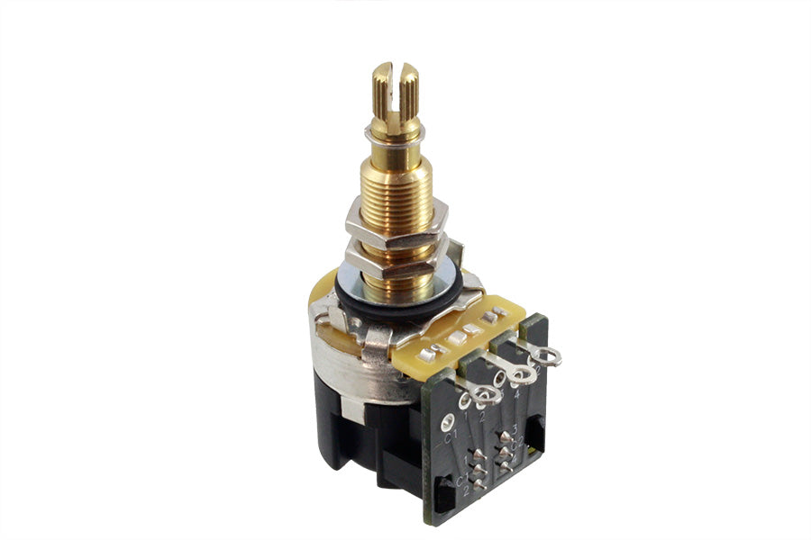 EP-6286 CTS 500K Long Thread Push-Pull Split Audio Pot