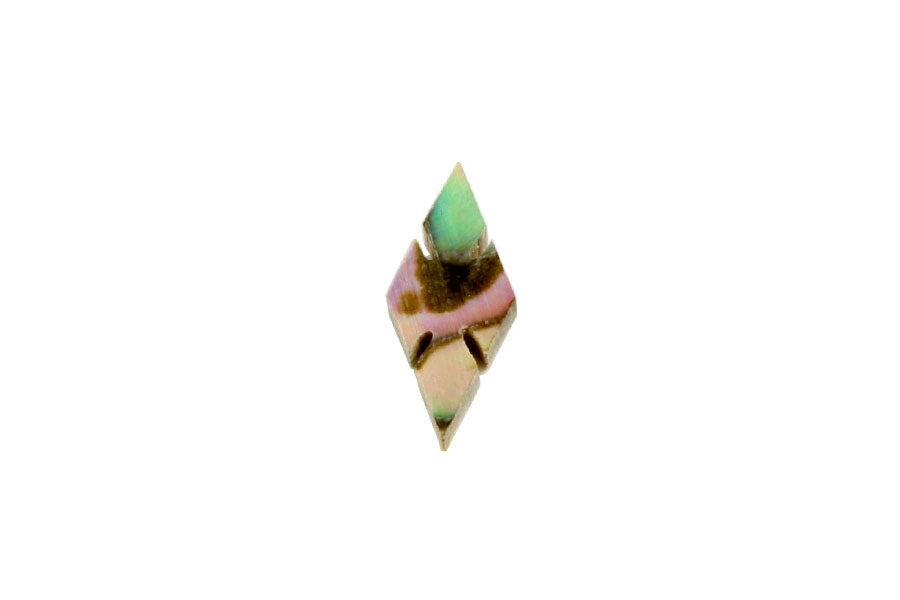 LT-1480 Large Diamond Organic Shell Inlays