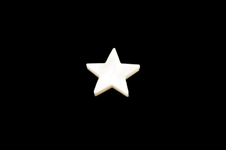 LT-1491 Small Star Organic Shell Inlays