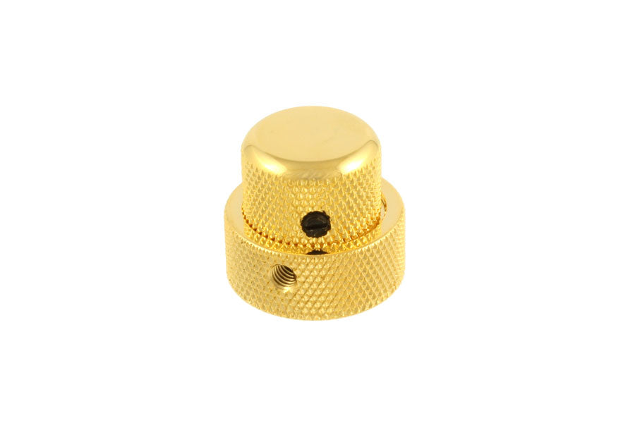 GOLD Concentric Stacked Knob With Set Screws NEW