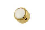 MK-3175 Q-Parts White Dome Knob