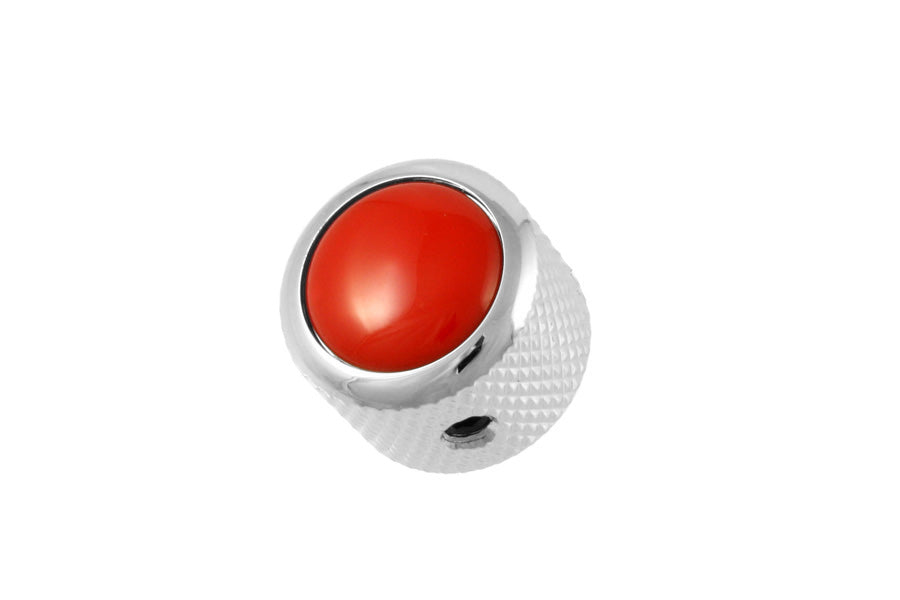 MK-3177 Q-Parts Red DomeKnob