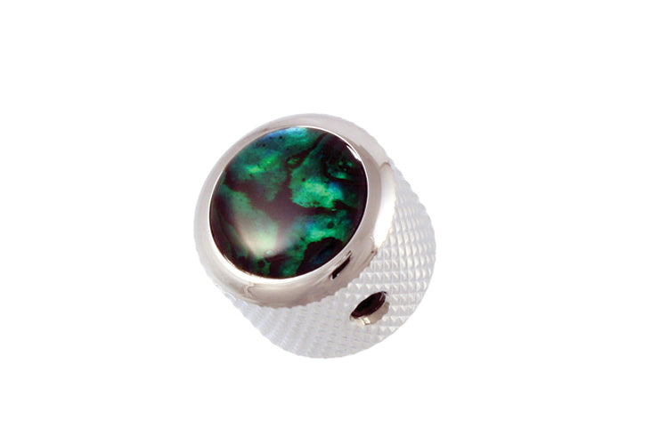 MK-3179 Q-Parts Green Abalone Dome Knob