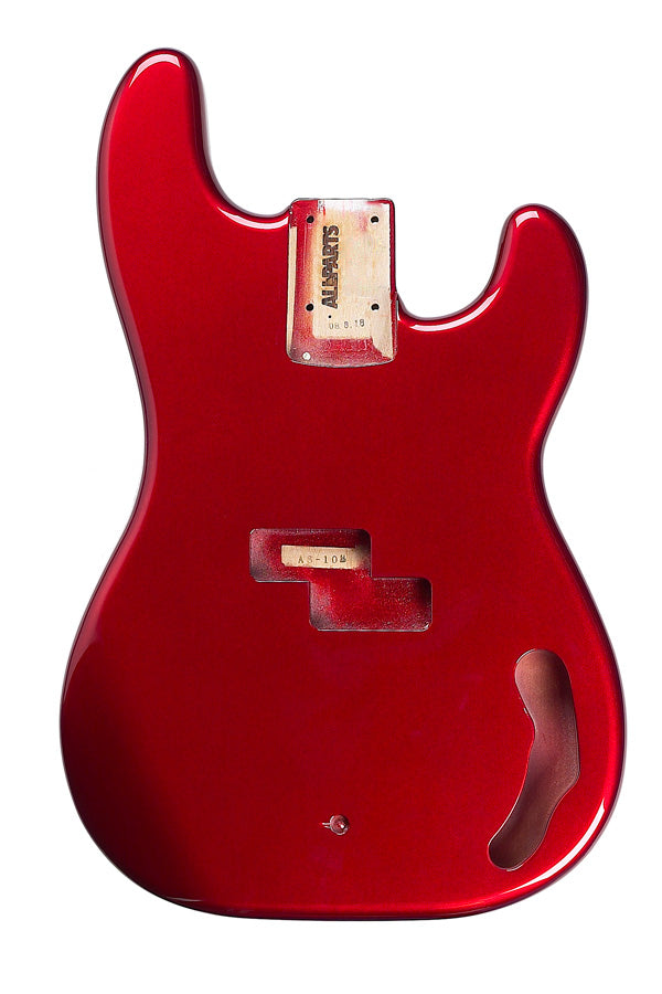 PBF-CAR Candy Apple Red Finished Replacement Body for Precision Bass