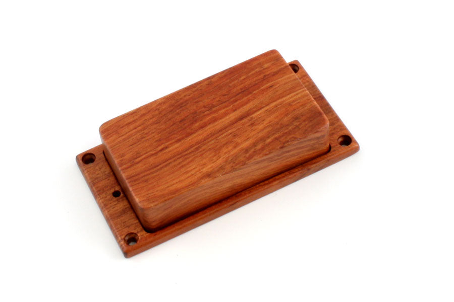 PC-0304 Wooden Humbucking Pickup Cover Set with No Holes