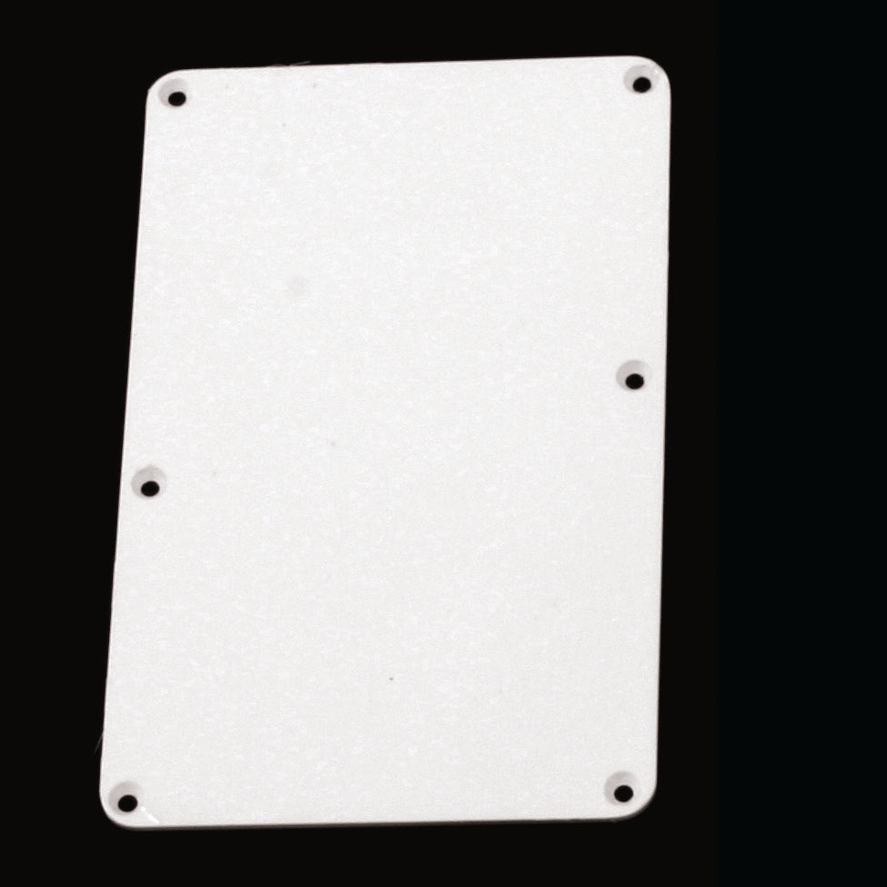 PG-0576 Tremolo Spring Cover Backplate with No Holes