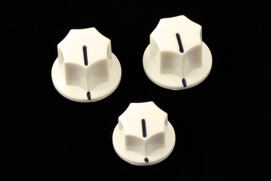 PK-0174 Set of 3 Knobs for Jazz Bass®