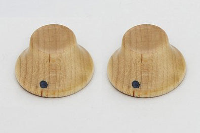 PK-3197 Set of 2 Wooden Bell Knobs