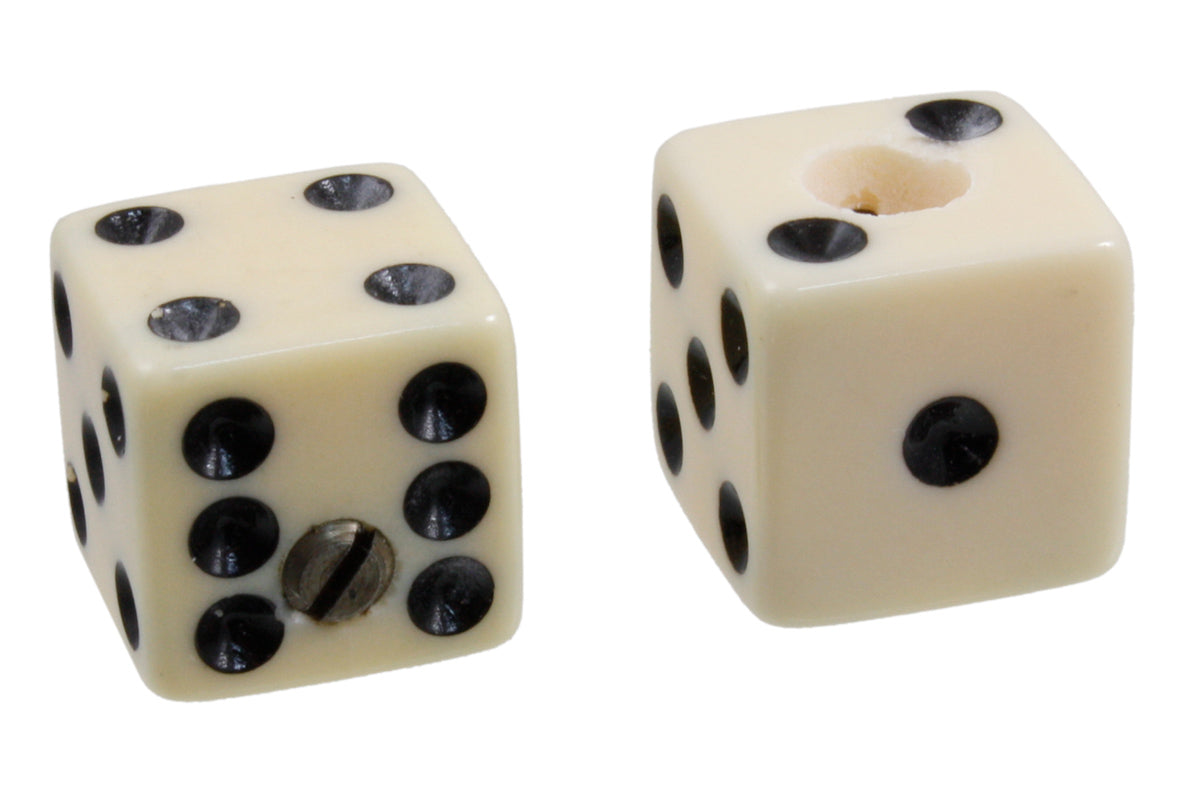 PK-3250 Set of 2 Unmatched Dice Knobs