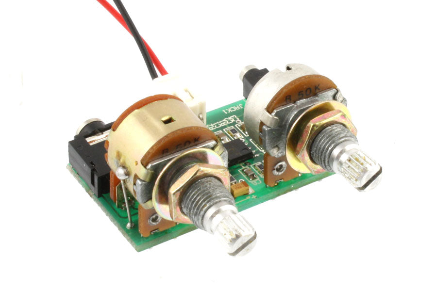 PU-6413 Piezo Active Preamp with Volume and Tone