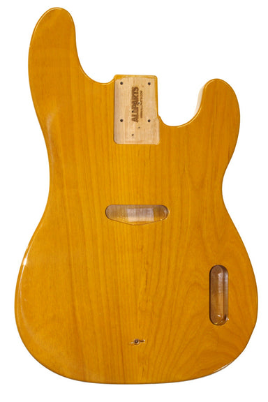 TBBF-BS Butterscotch Finished Replacement Body for Tele Bass