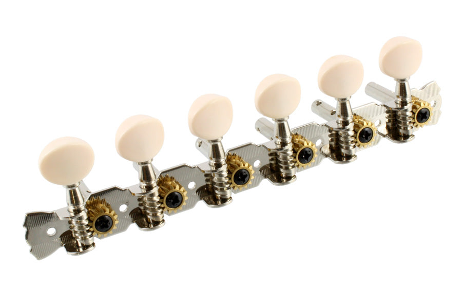 TK-7897 Open Gear 6-in-line Strip Tuners