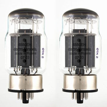 VT-0655 Matched Pair of 6550 Tubes