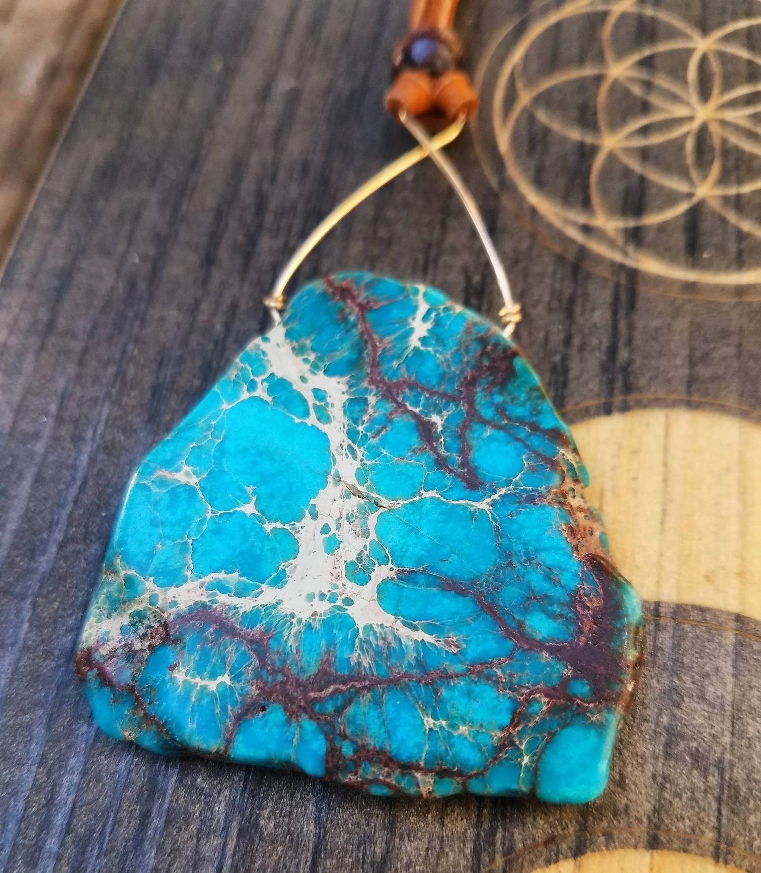 Imperial Sea Sediment Jasper Necklace