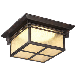 Hickory Point 15wide Led Outdoor Ceiling Light