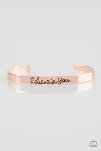 Always Believe - Rose Gold