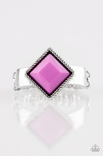 Stylishly Fair and Square - Purple