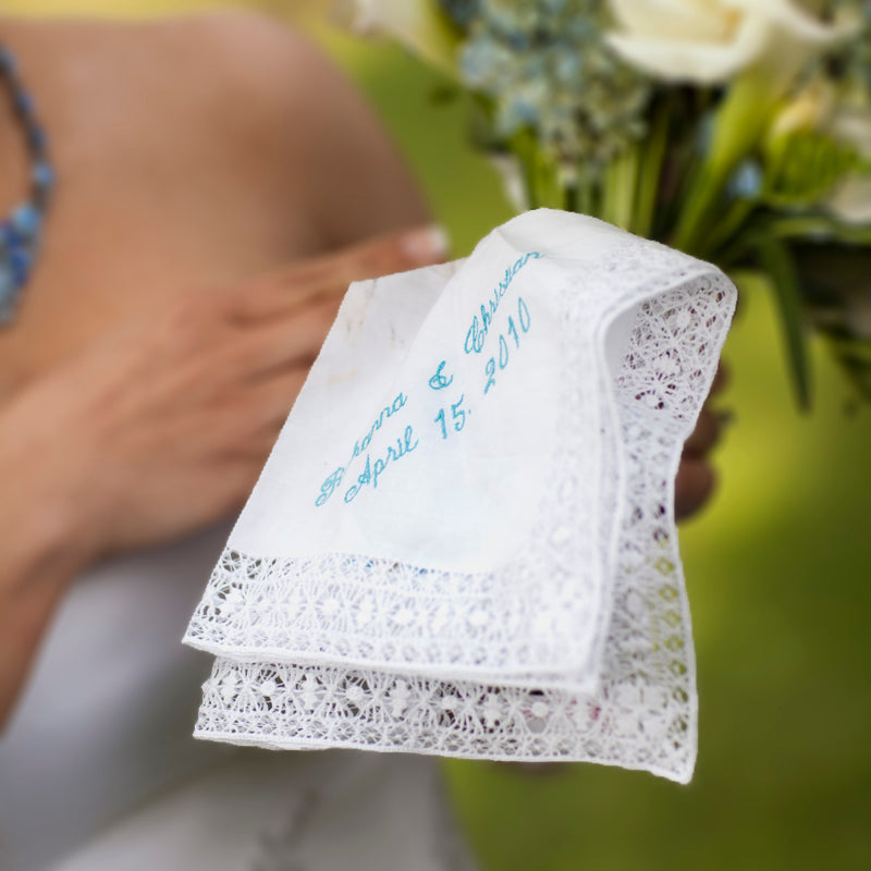 ladies handkerchiefs lace handkerchief