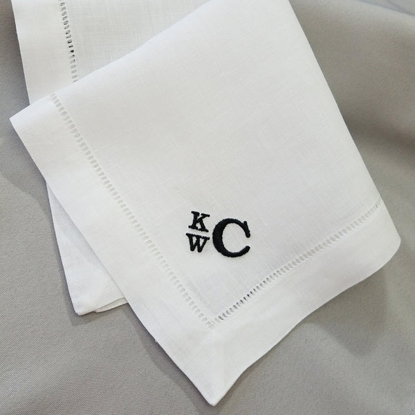 Exquisite Linen Pocket Square Set for Him