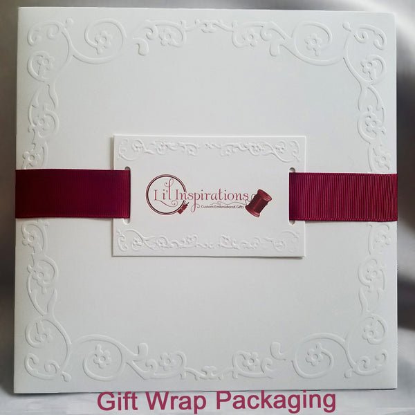 custom gift wrap for handkerchief