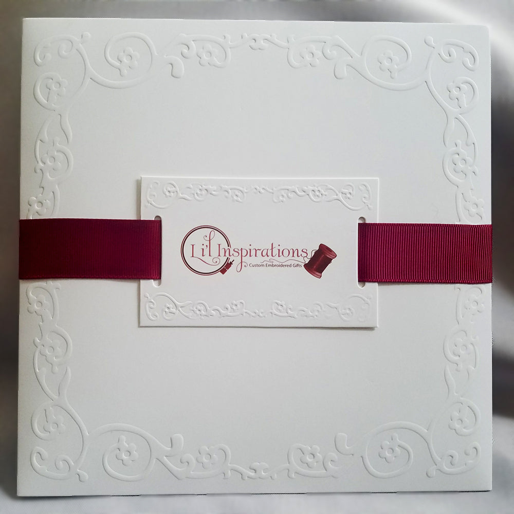 custom handkerchief gift packaging