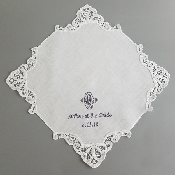 mother of the groom hankerchief