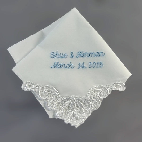 Ladies Cotton Lace Handkerchief