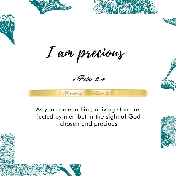 Precious - 1 Peter 2:4 - Today & Me