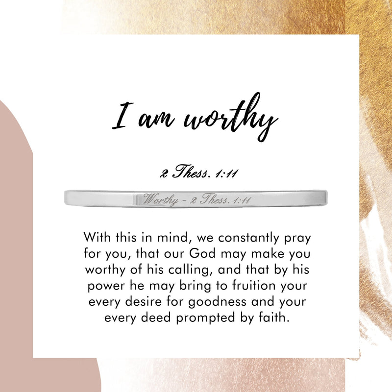 Worthy - 2 Thess. 1:11 - Today & Me