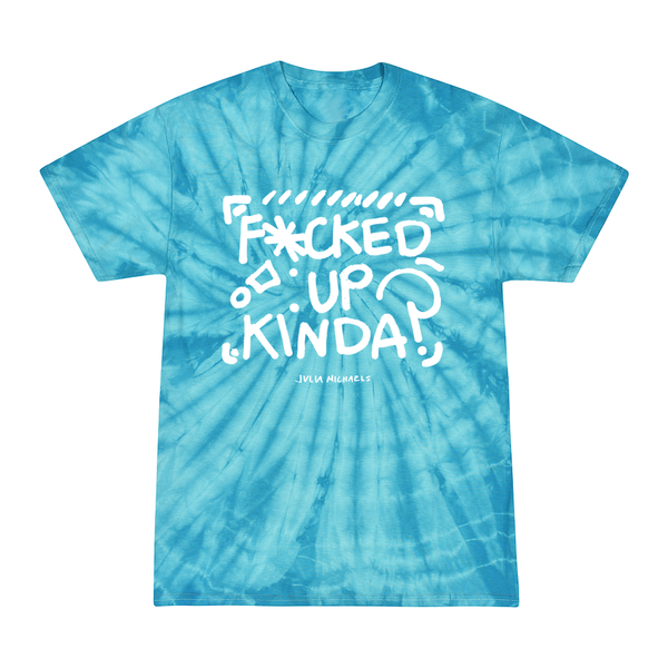 F'D UP KINDA MIXED TIE DYE TEE