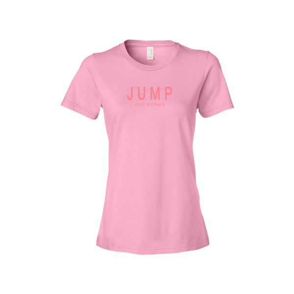 LADIES JUMP LOGO TEE