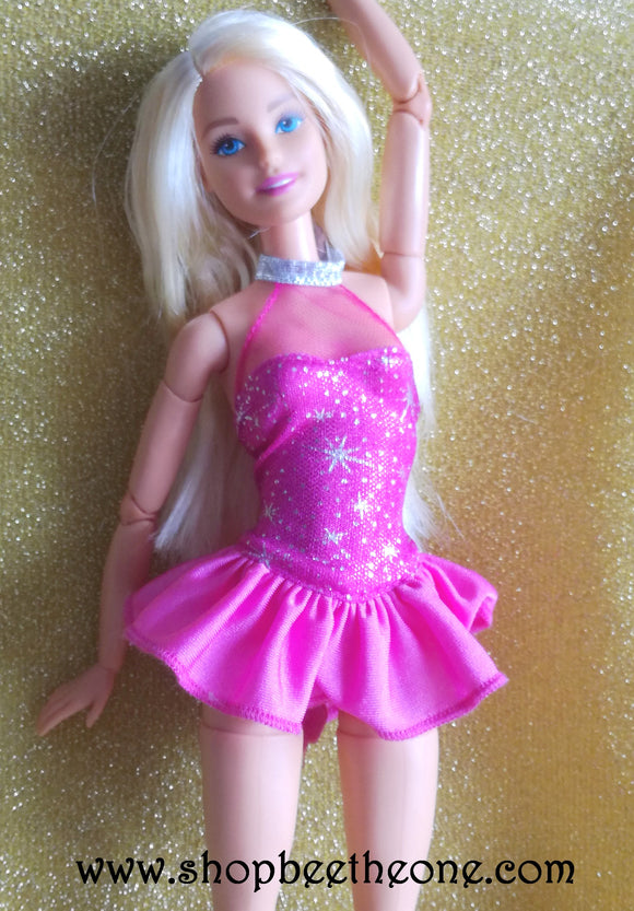 Barbie Patineuse (Careers Ice Skater) - Mattel 2014 - Vêtement
