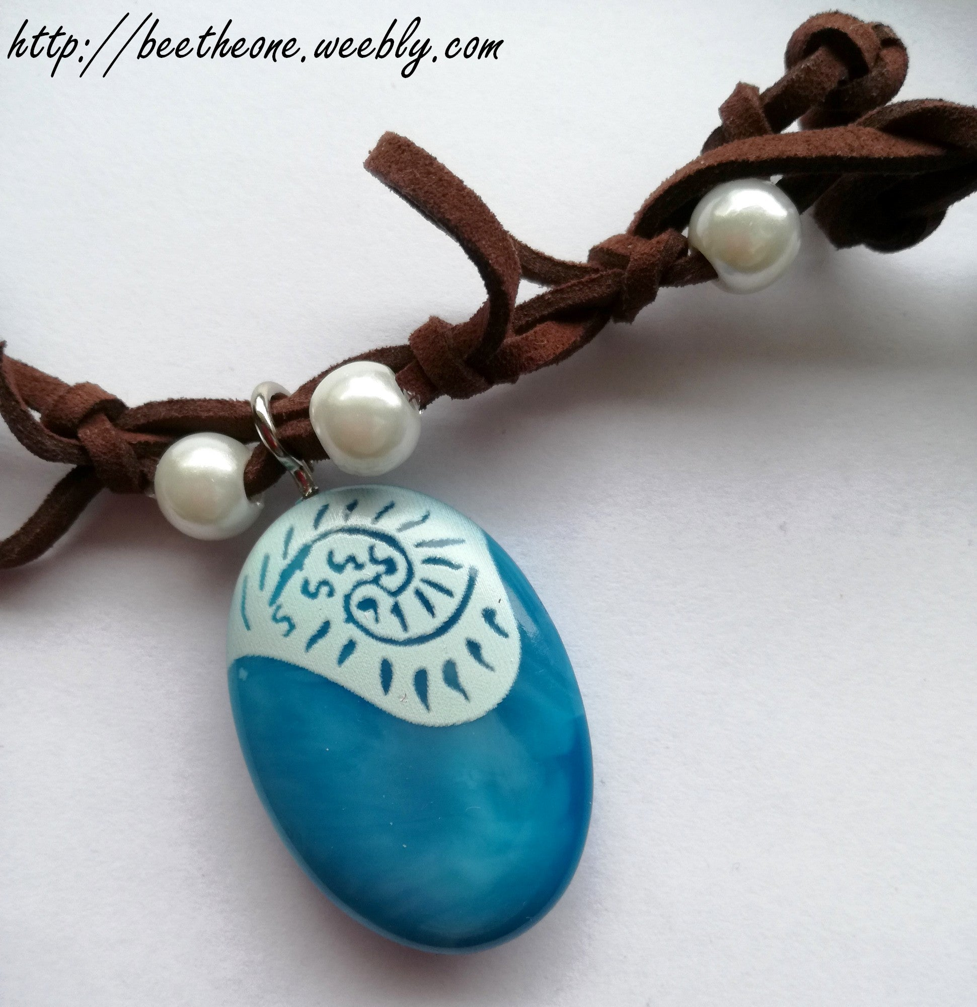collier coquillage vaiana pas cher