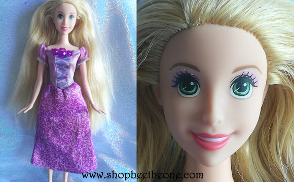 Raiponce Disney Princess Collection - Exclusivité USA - Mattel 2015 - Poupée - Vêtement