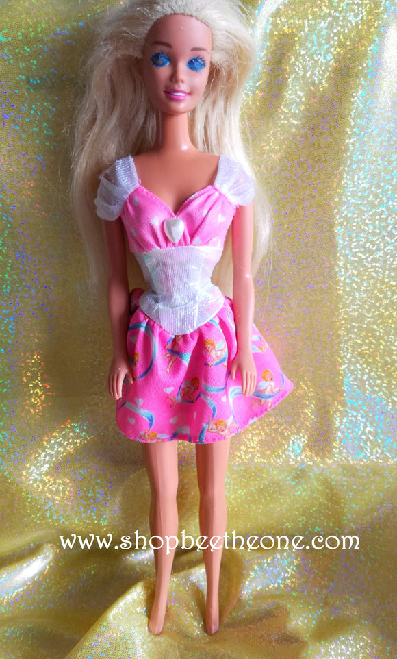 My First Barbie Bijoux Fantaisie (Jewelry Fun) - Mattel 1996 - Poupée - Robe