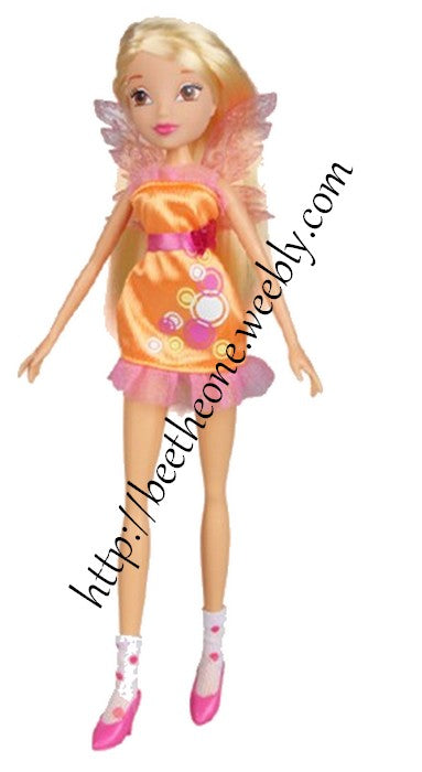 Poupée Winx Club Stella City Girl - Witty Toys - 2016 - Exclusivité Chine