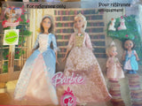 Barbie Coeur de Princesse (The Princess and the Pauper) - Princesse Anneliese - set exclusif - Mattel 2007 - Poupée nue