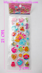 "Stickers ""Petits Poissons"""