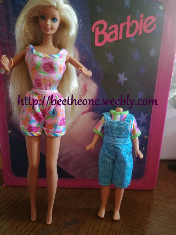 Barbie Giftset Birthday Fun at McDonald's - Mattel 1993 - Poupée - Vêtements - Exclusivité USA