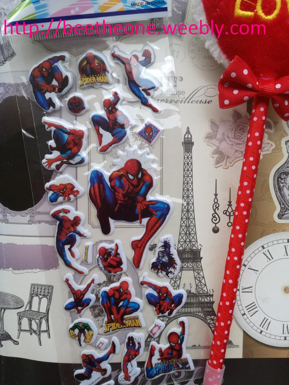 Planche de stickers Disney Marvel Spiderman