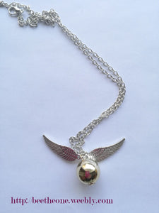 "Collier Harry Potter ""Vif d'or"""