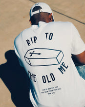 Load image into Gallery viewer, RIP Tee in White