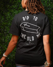 RIP Tee in Black/Gray