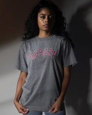 Reborn Arch Outline Tee in Heather Gray