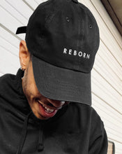 Load image into Gallery viewer, Reborn Dad Hat in Black