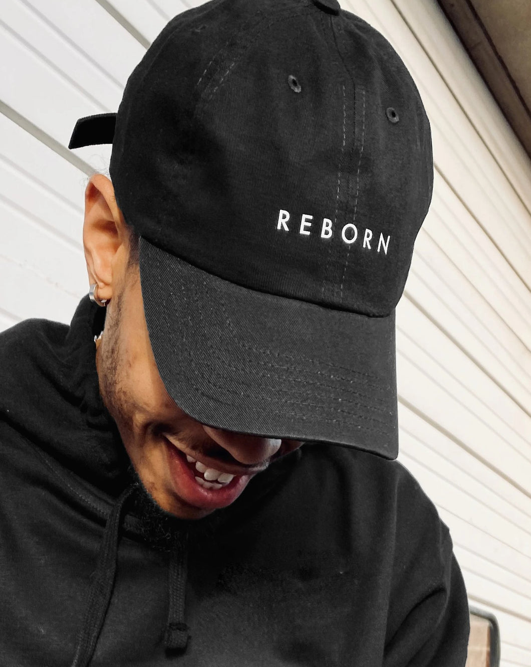 Reborn Dad Hat in Black