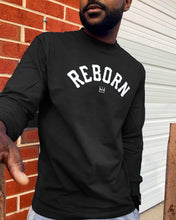 Load image into Gallery viewer, Reborn Arch L/S Tee in Black