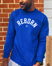 Load image into Gallery viewer, Reborn Arch L/S Tee in Blue