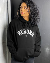 Load image into Gallery viewer, Reborn Arch Hoodie in Black